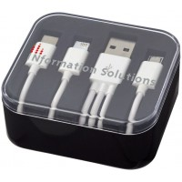 Tril 3-in-1 Charging Cable in Case